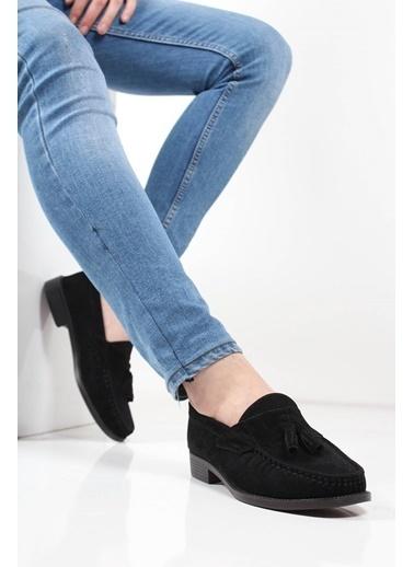 Oksit Ayakkabı Siyah